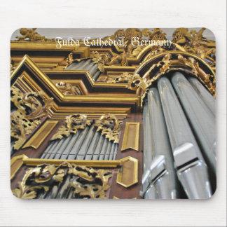 Mousepad del órgano de la catedral de Fulda