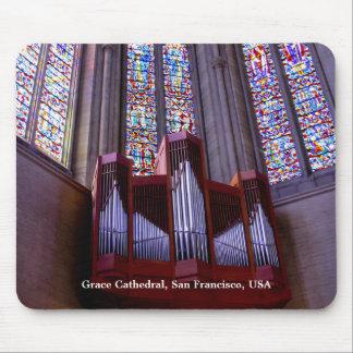 Mousepad del órgano de la catedral de la toleranci