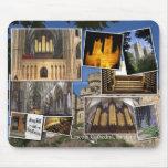 Mousepad del órgano de la catedral de Lincoln Alfombrillas De Ratones