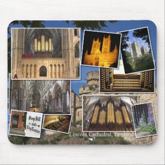 Mousepad del órgano de la catedral de Lincoln
