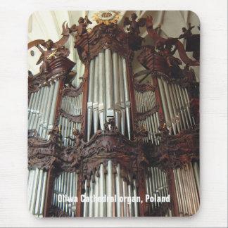Mousepad del órgano de la catedral de Oliwa