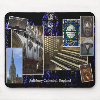 Mousepad del órgano de la catedral de Salisbury