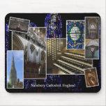 Mousepad del órgano de la catedral de Salisbury Tapetes De Raton