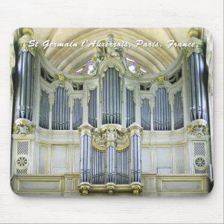 Mousepad del órgano de los l'Auxerrois de Santo-Ge
