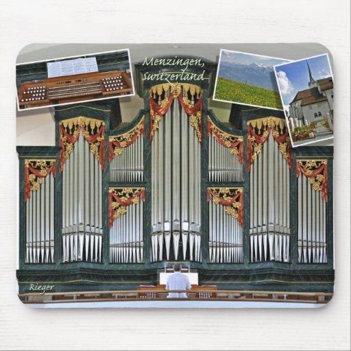 Mousepad del órgano de Menzingen
