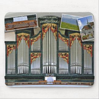Mousepad del órgano de Menzingen Alfombrillas De Ratón