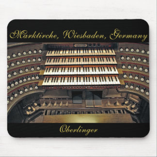 Mousepad del órgano de Wiesbaden Tapete De Ratón
