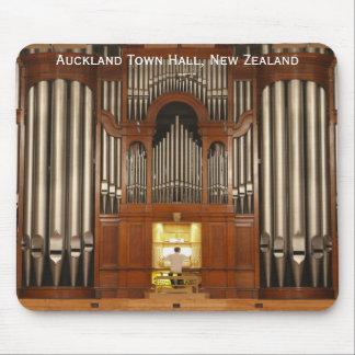 Mousepad del órgano del ayuntamiento de Auckland