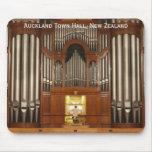 Mousepad del órgano del ayuntamiento de Auckland Tapetes De Ratones