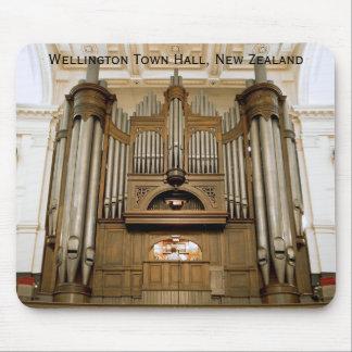 Mousepad del órgano del ayuntamiento de Wellington