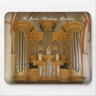 Mousepad del órgano del St Jacobi