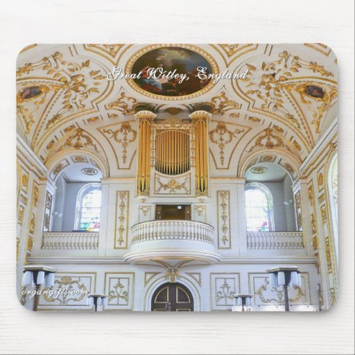 Mousepad del órgano - gran Witley Alfombrillas De Ratones
