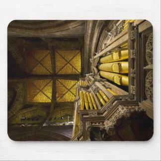 Mousepad del órgano y del techo en Chester Tapetes De Raton