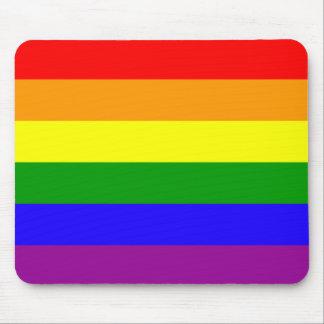 Mousepad del orgullo del arco iris tapetes de raton