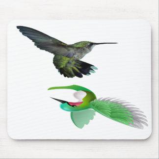 mousepad del pájaro del tarareo