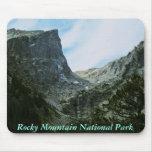 Mousepad del Parque Nacional de las Montañas Rocos Alfombrillas De Raton