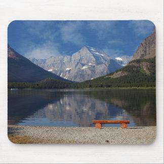 Mousepad del Parque Nacional Glacier