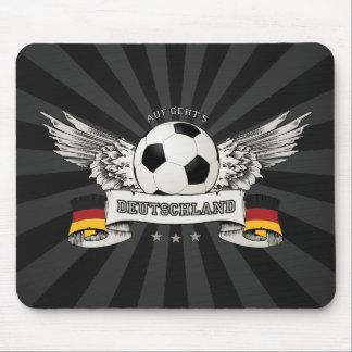 Mousepad del partidario del equipo nacional del fú tapete de ratones
