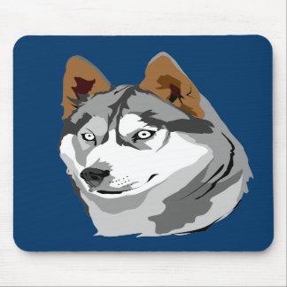 Mousepad del perro esquimal 2 alfombrillas de ratones