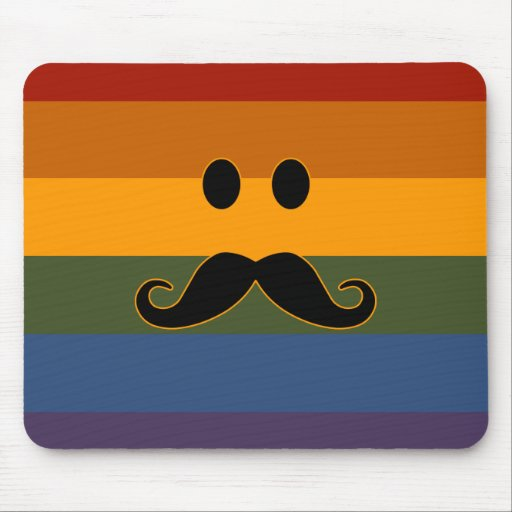 Mousepad del personalizado del orgullo del bigote tapetes de raton