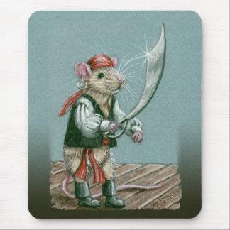 Mousepad del pirata de la rata tapetes de ratones