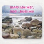 mousepad del regalo del Año Nuevo Alfombrillas De Ratón