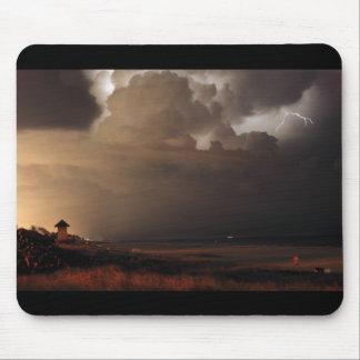 Mousepad del relámpago de Delray Beach Tapete De Raton