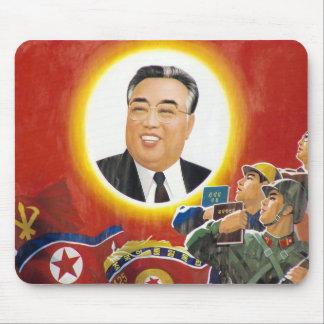 Mousepad del rojo de Kim Il Sung