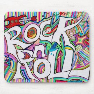 mousepad del rollo de la roca n