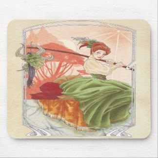 Mousepad del té de tarde de Srta. Haversham Alfombrilla De Ratones