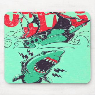 Mousepad del tiburón tapete de ratones