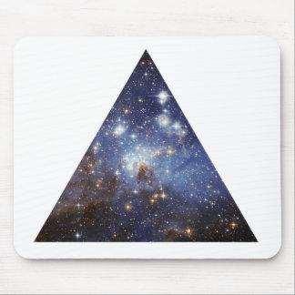 mousepad del triángulo del espacio del