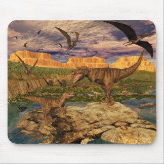 Mousepad del valle del dinosaurio
