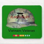 Mousepad del veterano de Rakkasan Vietnam Tapetes De Ratón