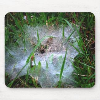 Mousepad del Web de arañas del tejedor del Web de  Alfombrillas De Ratón