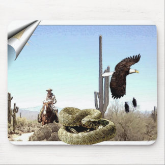 Mousepad - desert rider