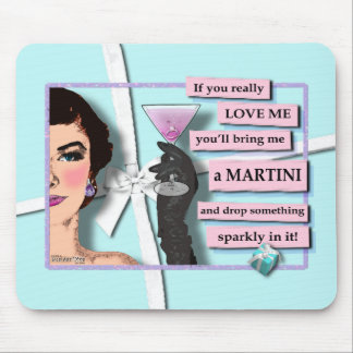 Mousepad - Diamonds & Martinis