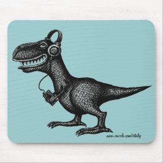 Mousepad divertido del arte del dibujo de la tinta
