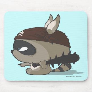Mousepad divertido del dibujo animado del pirata d