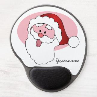 Mousepad divertido del personalizado de Santa Alfombrilla Gel