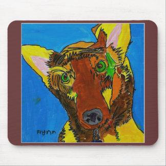 Mousepad Dog Art by Flynn