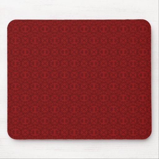 Mousepad dulce y delicado, rojo oscuro alfombrillas de raton