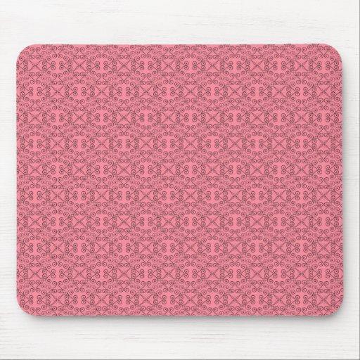 Mousepad dulce y delicado, rosa de la sandía tapetes de ratón