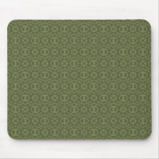 Mousepad dulce y delicado, verde verde oliva tapete de ratones