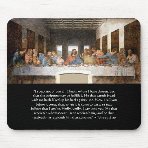 Mousepad - el 13:18 de Juan de la última cena - 20
