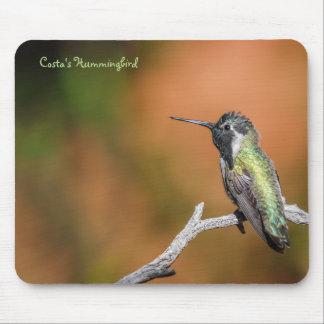 Mousepad: El colibrí #5 de la costa Tapete De Ratón