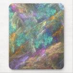 Mousepad en colores pastel de la fantasía tapetes de ratón