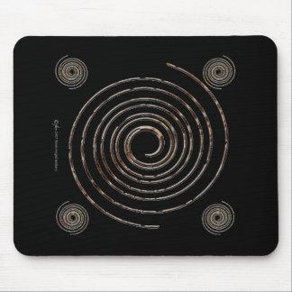 Mousepad espiral