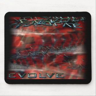 Mousepad EVOLVE TEXT GRAPHIC