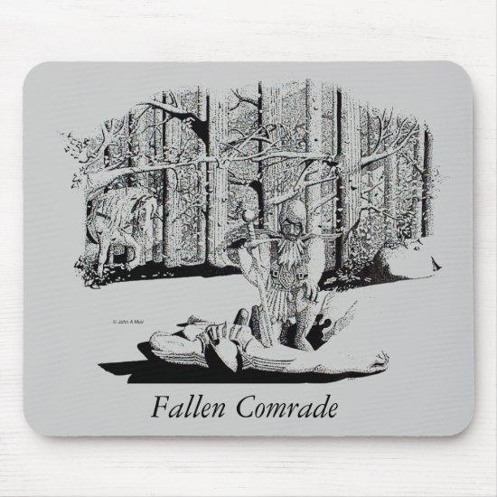 Mousepad - Fallen Comrade